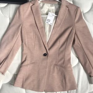 H&M Blazer Light Pink
